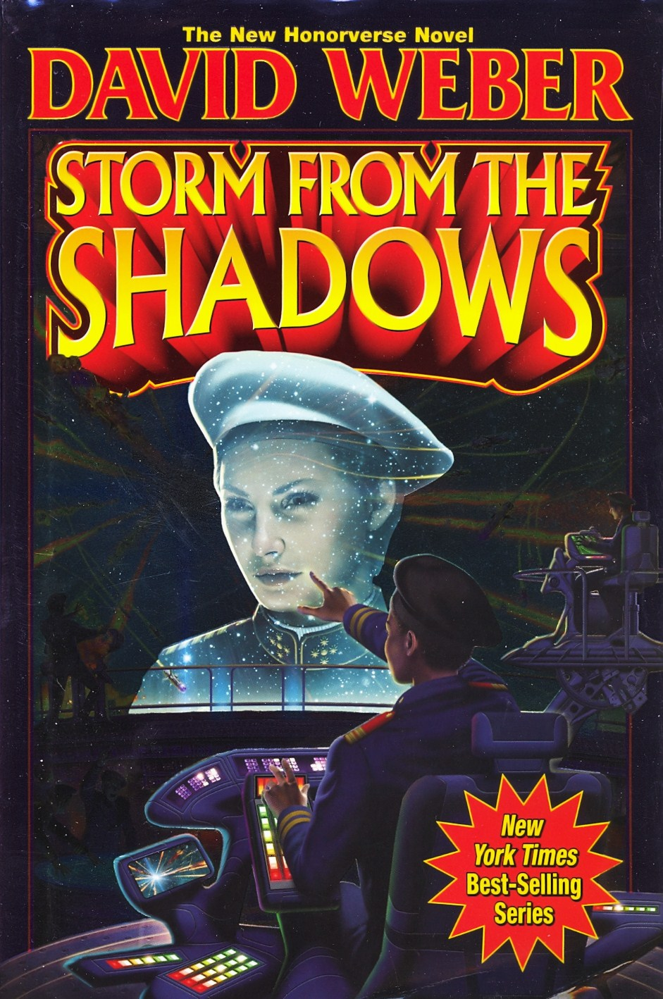 book review  storm from the shadows by david weber