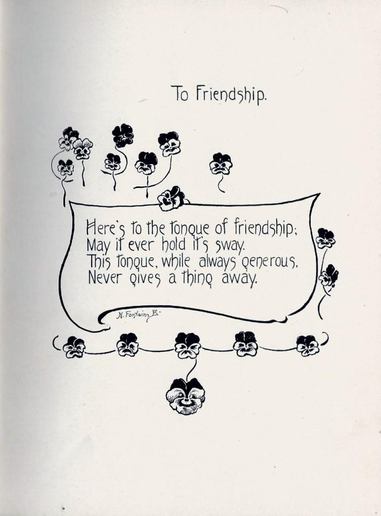 To Friendship 3