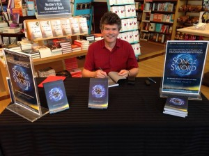 Song of the Sword signing at Chapters Regina