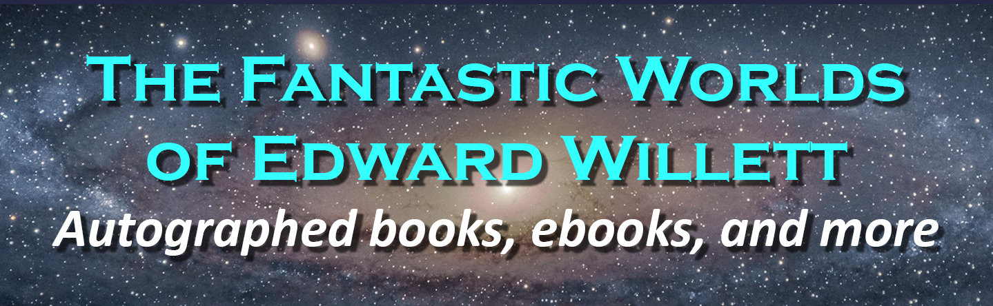 Edward Willett bookstore banner
